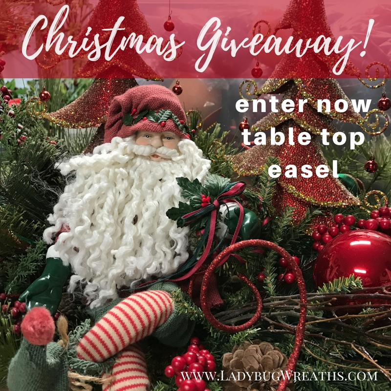 Tabletop Easel Giveaway, 11/24 – 12/18, Enter to Win