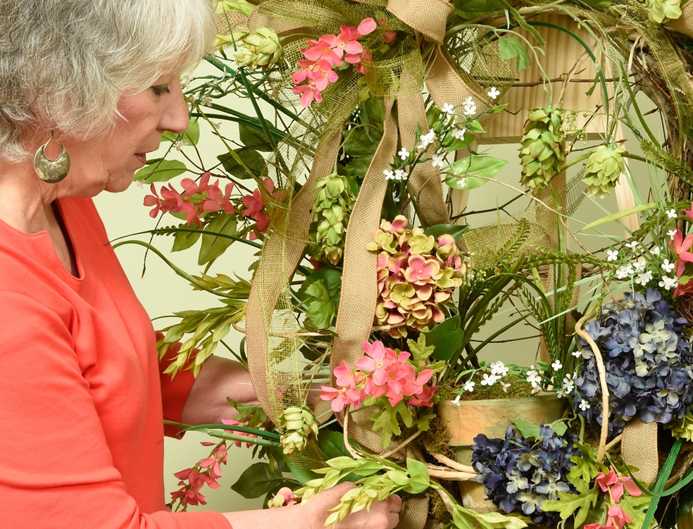 Learn Wreath Making and Floral Design