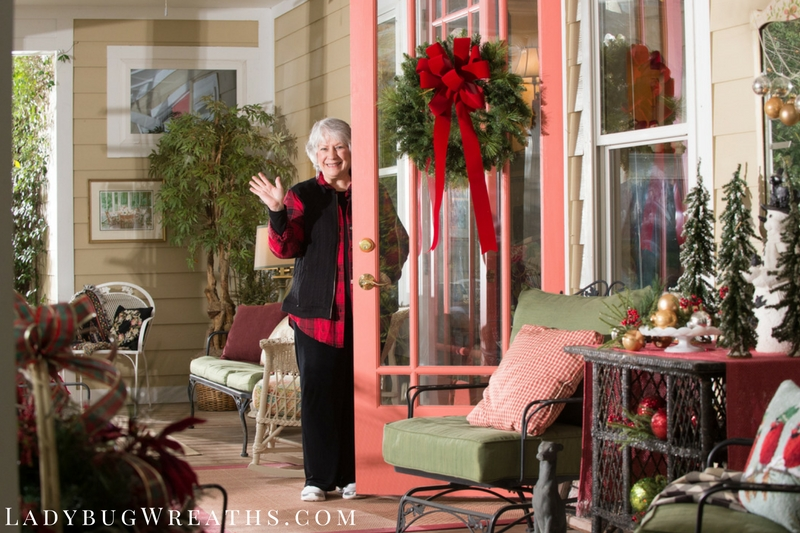 Deck The Halls With Ladybug Wreaths